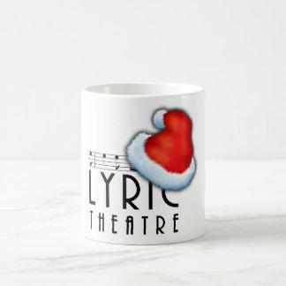 Taza de café lírica de los Carolers del Victorian