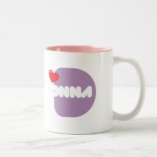 Taza de café Loves DONNA