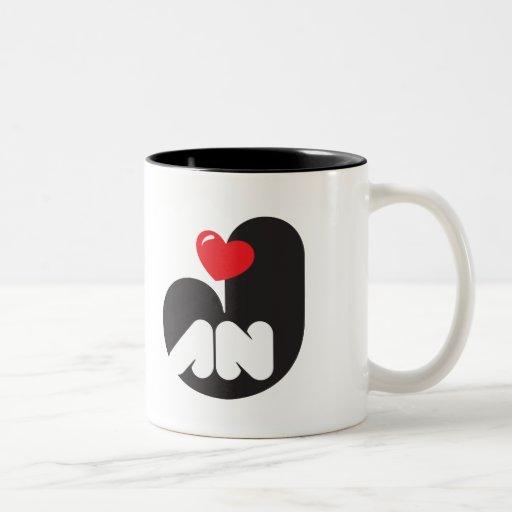 Taza de café Loves JAN