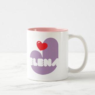 Taza de café Loves Jelena