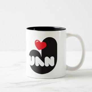Taza de café Loves Juan