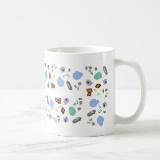 Taza de café - macropartículas de la orina