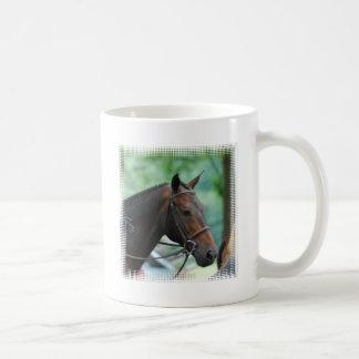 Taza de café magnífica del caballo de Warmblood