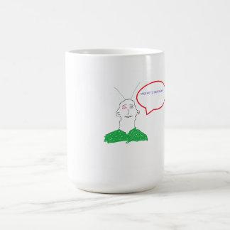 Taza de café marciana