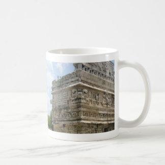 Taza de café maya de la ruina
