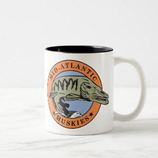 Taza de café Mediados de-Atlántica de Muskies II