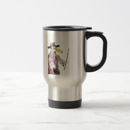 Taza de café médica de la sátira de Gomerblog