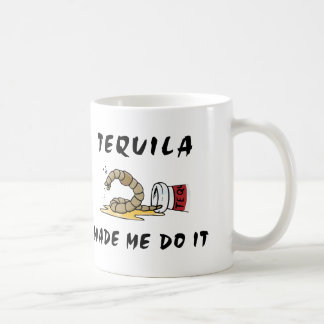 Taza de café mexicana divertida del Tequila