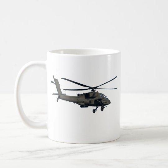 Taza de café militar del helicóptero
