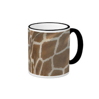 Taza de café modelada jirafa