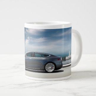 Taza de café modelo de Tesla S Taza Grande
