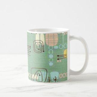 Taza de café moderna del diseño gráfico de los