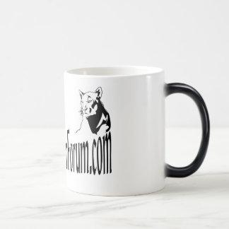 Taza de café Morphing de BlackDoubleCat
