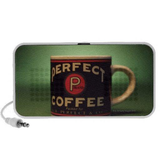 Taza de café mp3 altavoces