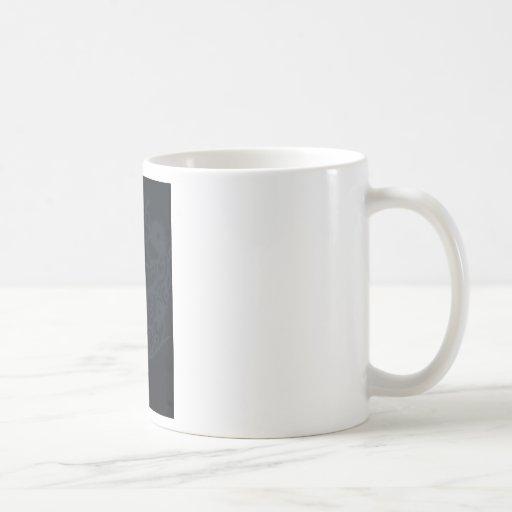 taza de café negra de la bailarina