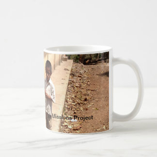 Taza de café nicaragüense del muchacho