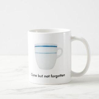 Taza de café no olvidada
