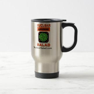 Taza de café nuclear del viaje de la ensalada