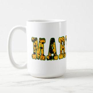 Taza de café observada negro de Maryland Susan