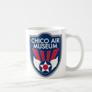 Taza de café oficial del museo del aire de Chico
