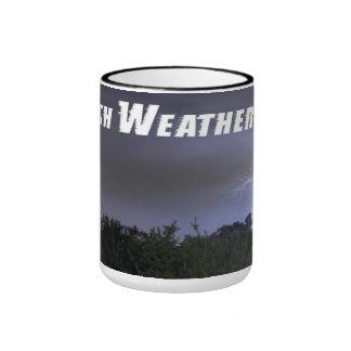 Taza de café oficial viva del tiempo de Perth