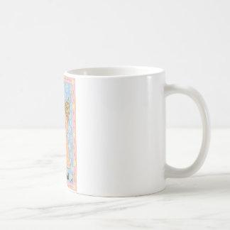 Taza de café orgánica del ángel