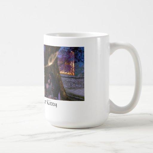 Taza de café para el gatito