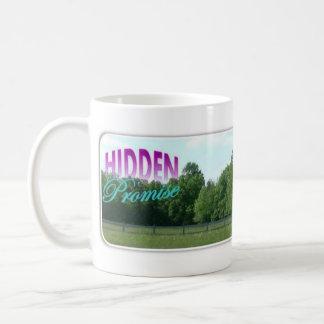 Taza de café - pasto ocultado de la promesa