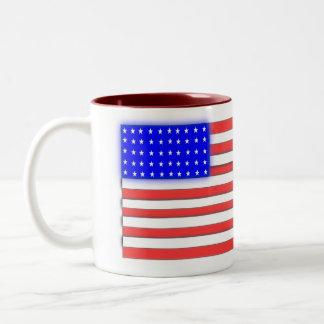 Taza de café patriótica