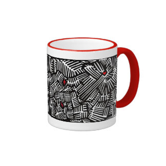 Taza de café perdida del amor