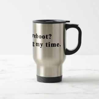 ¡Taza de café - personalícela! usted reanudó Taza De Viaje