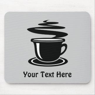 Taza de café (personalizable) alfombrilla de ratones
