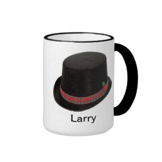 Taza de café personalizada para un hombre.