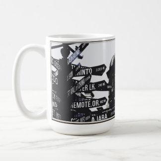 Taza de café pionera del tribunal