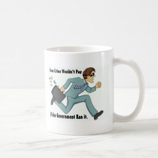 Taza de café política divertida