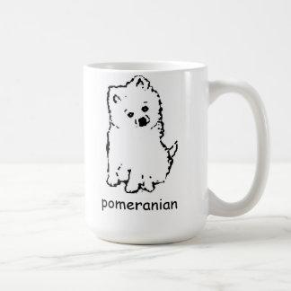 taza de café pomeranian