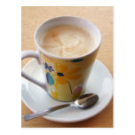 taza de café postal