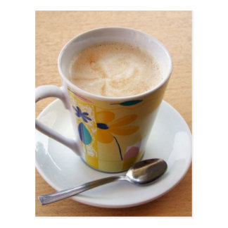 taza de café postales
