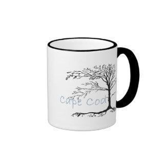 Taza de café primitiva de Cape Cod