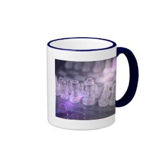 Taza de café principal del ajedrez