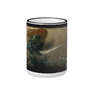 Taza de café profana de las guerras de Darkfall