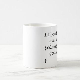 Taza de café programada