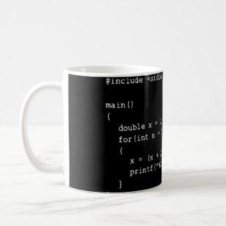 Taza de café programada numérica