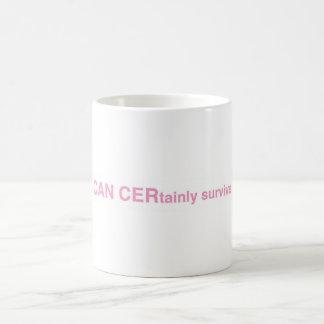 """Taza de café:  """"PUEDE sobrevivir ciertamente """""""