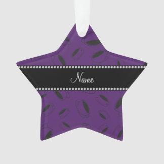 Taza de café púrpura conocida personalizada
