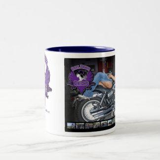 Taza de café REAL del POLLUELO del MOTORISTA