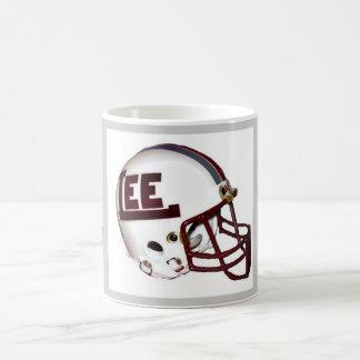 Taza de café rebelde del fútbol de Midland Lee