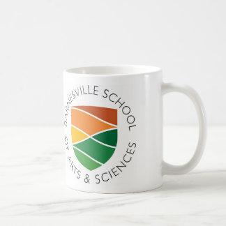 Taza de café redonda del logotipo - 11 onzas
