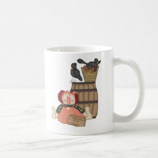 Taza de café remilgada de los amigos
