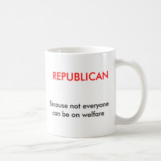 Taza de café REPUBLICANA